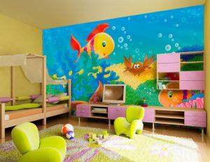 ταπετσαρια παιδικου δωματιου