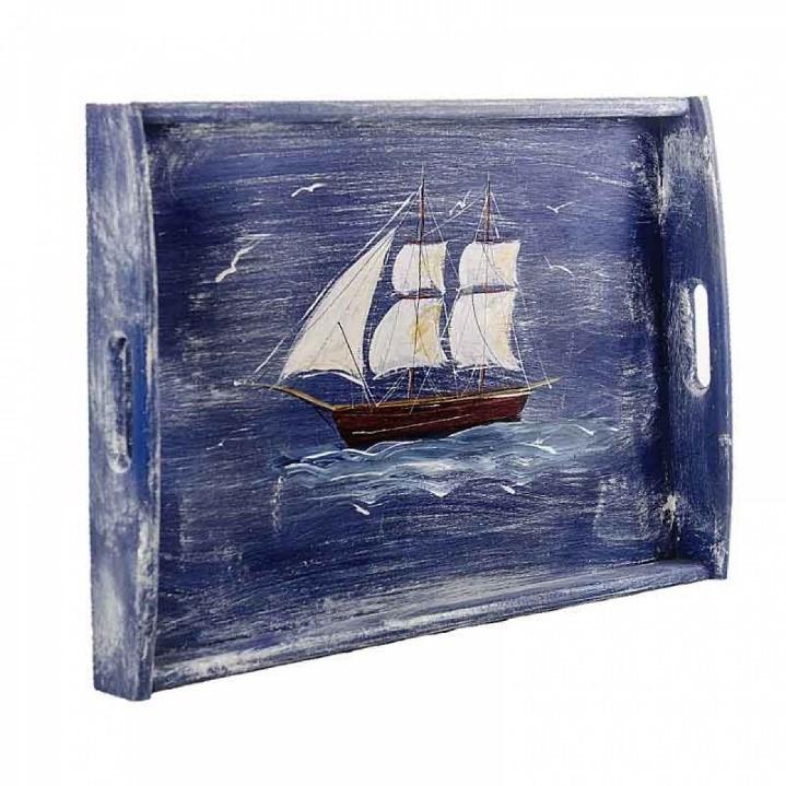 ζωγραφιστος ξυλινος δισκος