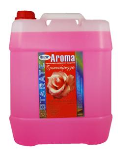 Ostrianet.gr - Επαγγελματικά Απορρυπαντικά - Ostria aroma fresh τριαντάφυλλο 12lt