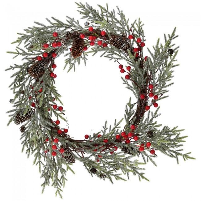 χριστουγεννιατικο στεφανι διακοσμητικο